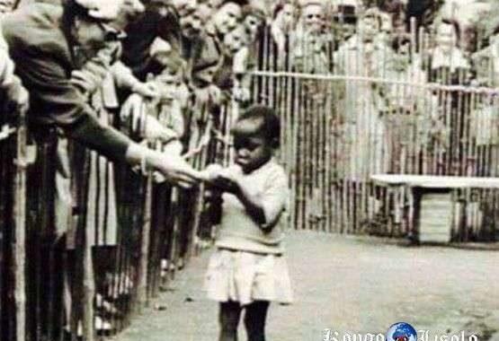 Le problème du monde, « ce sont les Blancs » : voici une fille Noire dans un « zoo humain » à Bruxelles (Belgique 1958) Je ne trouve pas les mots pour le moment