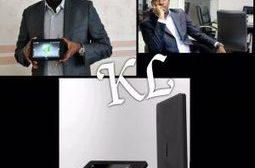Innovation technologique : Verone Mankou invente la 1ère tablette africaine « L'inventeur congolais, Verone Mankou fait la fierté de toute l'Afrique » Il est directeur général de l'entreprise VMK