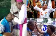 Élection en RDCongo : Dieu va exaucer la prière de quel candidat ? À moins d'une semaine de la tenue des élections en RD Congo (23 décembre 2018), le train de la campagne électorale est tellement à son dernier virage qu'il s'y passe tout et rien