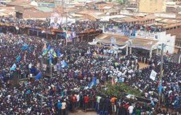 L'impossible n'est pas du tout Congolais : campagne de Shadary à Butembo en Kinyarwanda avec le drapeau rwandais sur le sol congolais ... (VIDÉO)