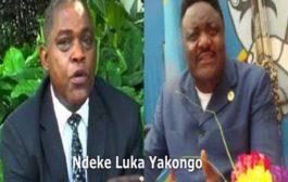 Joseph Olenga Nkoy avait dit à haute voix ce que tout le monde pensait à voix basse & le vice-ministre de l'Intérieur, M. Basile Olongo, vient d'annoncer à la RTNC les mesures suivantes ... (VIDÉO)