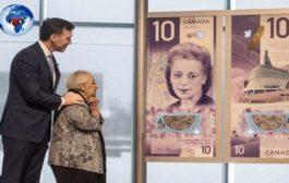 Canada: depuis lundi 19 novembre 2018, le nouveau des billets de 10 dollars canadien commémore l'entrée officielle de Viola Desmond, l'icône des droits civils pour les Canadiens de race noire devenant ainsi la première femme canadienne être célébrée à la face de la devise de son pays ... (VIDÉO)