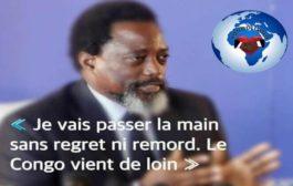 Congo - Kinshasa : le dernier discours de Joseph Kabika « A la veille de l'investiture du 5ème Président de la République Démocratique du Congo, le Président sortant Joseph Kabika Kabange s'est adressé à la nation congolaise » ... (VIDÉO)