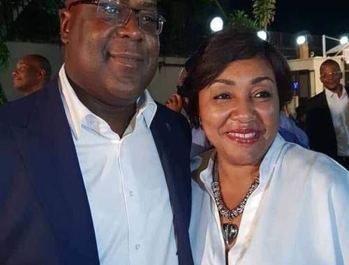 La beauté congolaise : « Le couple présidentiel congolais » On ne peut pas se fier qu'à la chance pour réussir dans la vie ; il faut surtout parvenir à faire sa propre chance pour y arriver avec succès