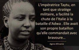 """Taytu Betul: waa muwaadin weyn oo Itoobiyaanka ah oo sheegay in ayan jirin gumeysi """"Taytu Betul wuxuu ahaa xaaskii sadexaad ee Emperor Menelik II oo sidaas darteed Empress Ethiopia, waxa uu ahaa xaaskiisa, haweeney daacad ah, taliye iyo sharaf leh istiraatiiji militari »"""