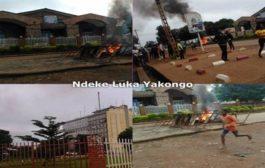 RDC: manifestation des étudiants à l'Université de Lubumbashi « démonstration à l'UNILU bilan 4 morts et un commissaire de police principal a été arrêté sur ordre de la présidence de la République » ... (VIDÉO)