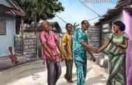 Méditer: Une femme faisait le ménage de sa maison quand tout d'un coup, elle vit trois vieillards lui paraissant remplis d'expérience de la vie à l'entrée de sa maison
