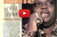 عرض إمباير باكوبا 1987: تحية لأمينا أوموي جامبا وجان بابتيست كاباسيلي يامبانيا ، ويعرف أيضًا باسم (بيبي كالي) ، يُكتب أحيانًا باسم بيبي كالي المولود في الكونغو كينشاسا (30 يناير 1951 وتوفي في أغسطس 28 1998) ... (فيديو )