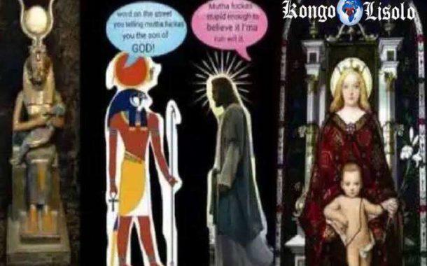 Ceux qui sont familiers avec la mythologie Khémite savent que Heru est l'enfant de la déesse mère enceinte, Auset (Isis), qui est souvent vue tenant unee croix ankh nommée Ankh, qui ressemble à une soeur de la poupée Akua'ba et qui est loin d'être une coïncidence, quand nous savons qu'Akua'ba et Ankh sont tous deux des symboles de la fertilité
