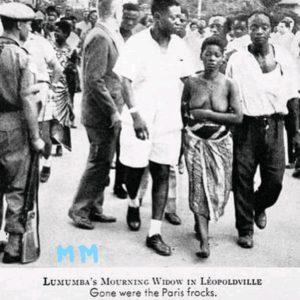 L'opprobre oubliée  de la veuve Lumumba