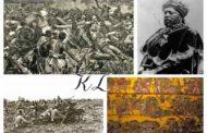 """Menelik II (1844-1913) iyo Battle Adoua: Battle of Adoua ayaa ka dhacda tuulada Adoua, oo ku taalla bartamaha gobolka Tigray, waqooyiga Itoobiya, 1er March 1896 """" Guushii Adoua, oo ku guulaysatay ciidamada Talyaaniga ee 1896 ayaa ilaalinayey xornimadii Itoobiya oo la jirtay Liberia oo keliya oo ah waddanka keliya oo aan Afrika ahayn"""