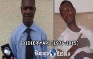 Yapi N'Cho Didier (1978-2015) : un génie en informatique, inventeur du clavier d'ordinateur invisible, avec ses inventions un signal fort pour l'Afrique et pour le monde entier, mais hélas, ce Bill Gates ivoirien s'est éteint dans la nuit du dimanche au lundi de Pâques à 2 Heures du matin du 6 avril 2015 à Abidjan ... (VIDEO)