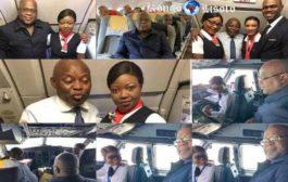 Mamicho Poncho émerveille Fatshi : Mamicho Pontcho a eu le privilège de piloter l'Airbus A320, qui a décollé de Kinshasa( N'Djili) destination Lubumbashi, à bord duquel le Président congolais a effectué son tout premier voyage à l'intérieur du pays