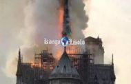 La Cathédrale Notre-Dame de Paris en feu : Les meules des Dieux des Noirs/Africains sont lentes, mais leurs moutures sont fines « L'incendie de Notre-Dame de Paris n'est que » L'un des temples de la Déesse Mère ISIS ce trouvais la où ce trouve Notre-Dame de Paris ... (VIDÉO)
