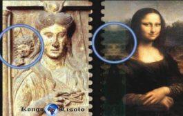 Mona-Lisa est la déesse-mère Isis : le peintre Léonard de Vinci, en son temps chef du prieuré, aurait mis dans ses peintures des symboles codés de ce secret « La déesse Isis, autre incarnation de cet Éternel féminin, est citée çà et là au cours de l'intrigue »