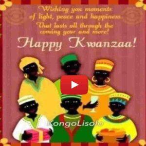 Célébration de la fête de Kwanzaa