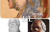 Fresques Arabo-Turques et poterie romaine : Socrate et Aristote ont longtemps été décrits puis représentés ou dépeints comme des Afro-Grecs ayant une peau Noire ou très Foncée par les Maures, les Arabes et les Turcs