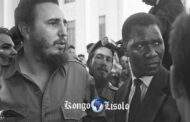 Fidel Castro takes the President of the Republic of Guinea, Ahmed Sekou Touré, to visit the University of Havana during an official visit to Cuba in October 1960