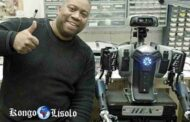Afro robot: Marc Haygood, a retired police officer in the city of the state of Maryland in the United States designer and initiator of a household humanoid