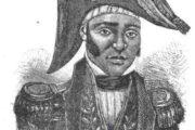 Jean-Jacques Dessalines, est né esclave (1758-1806) à Cornier, Grande-Rivière-du-Nord, dans la partie française de l'île de Saint-Domingue (République d'Haïti) sur la plantation Duclos, où il est devenu commandant (responsable de l'organisation du travail des esclaves); il a ensuite été acheté par un descendant afro libre nommé Dessalines