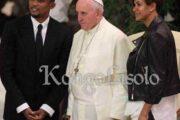 Devoir de mémoire : est-ce un privilège au couple Samuel Eto'o d'avoir été reçu par le soi-disant Très Saint Père ? Nombreux, comme Samuel Eto'o Fils (ce fameux ancien footballeur camerounais), empruntent tous les chemins pourvu qu'ils arrivent à Rome afin d'avoir la chance d'être reçu par le Souverain Pontife