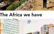 """ויכוח: """"יש (A) אפריקה ו- (B) AFRIKA"""" ישנם שני צדדים של אפריקה, בעיקר אפריקה, עליהם אנו מראים או מדברים בתקשורת המערבית (טלוויזיה, רדיו) ו אפריקה אמיתית שיש לנו"""