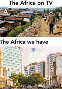 « Il y a (A) Afrique & (B) AFRIKA »