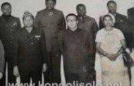 Devoir de mémoire : soi-disant le grand opposant Tshisekedi wa Mulumba, vice-président du sénat en visite officielle avec une délégation sénatoriale en Corée du Nord ( chez, Ki mil Sung ) le fondateur de la Corée du Nord