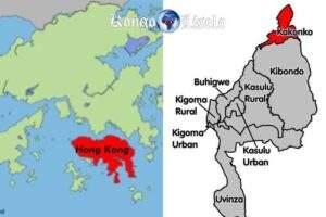 L'Île de Hong Kong et la Région de Kakongo