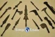 कोंगो को बनाने और तराशने की कला: सिर्फ गढ़ी हुई और जाली वस्तुओं को देखकर, हमें एहसास होता है कि कोंगो (कोंगो साम्राज्य के) ने इन कलाओं को उच्चतम स्तर पर विकसित किया था