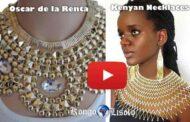 """Fashion: """"Oscar de la Renta VS Kenyan kolye"""" Oscar de la Renta, kreyatè (modèl Maker) ak youn nan konsèpteur yo alamòd nan mond Lwès la pa janm sispann repwodui modèl la nan kolye Kenyan ... (VIDEO)"""
